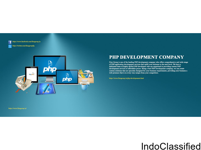 PHP WEBSITE DESIGN AND DEVELOPMENT SERVICES IN BANGALORE