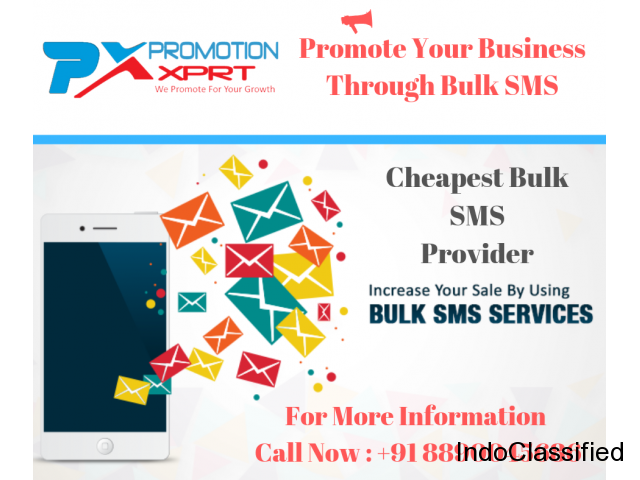 Cheapest Bulk SMS Service Provider In Delhi , NCR, India