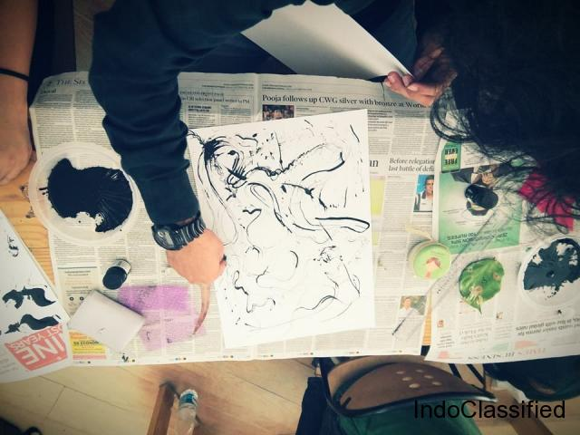 Painting Classes In South Delhi - SACAC