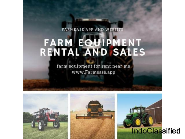 Farm Equipment Rental and Sale- Farmease