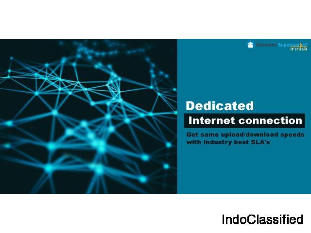 Internet Leased Line in Delhi-NCR Get (2Mbps To 100Mbps)