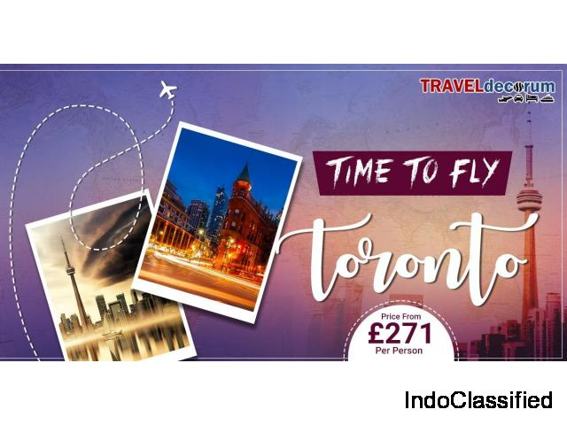 Book cheap flights to Toronto from London, Travel Around and Save Money!