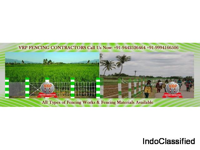 Fencing Contractors - Fencing Service - Fencing Material suppliers in Chennai - VRP Fencing
