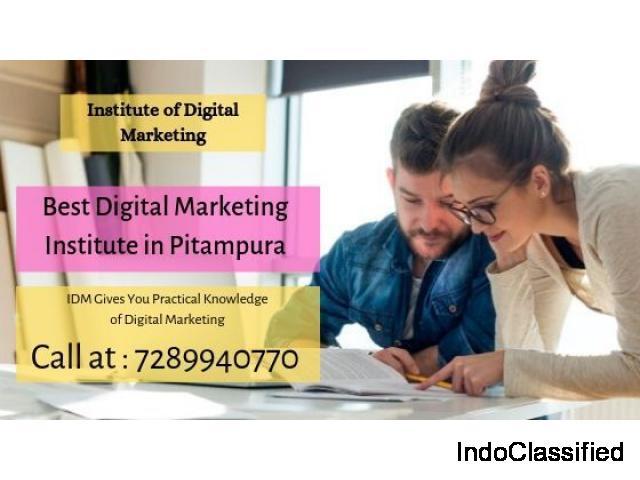 Best Digital Marketing Institute in Pitampura