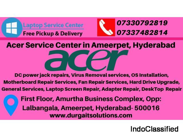 Acer Service Center in Ameerpet Hyderabad