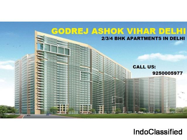Prebooking open for Flats in Godrej Ashok Vihar Delhi