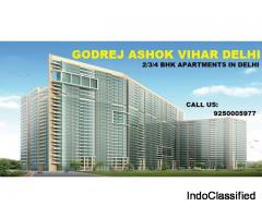 Prebooking open for Flats in Godrej Ashok Vihar Delhi