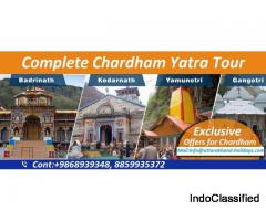 Divine Chardham Yatra Package with Uttarakhand Holidays Pvt. Ltd.