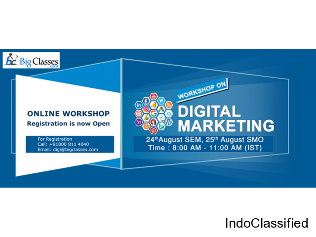 SEM & SMO Workshop on 24th & 25th August