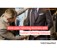 Looking for Custom Tailoring Software for your Tailoring business? Get a Free Quote Now