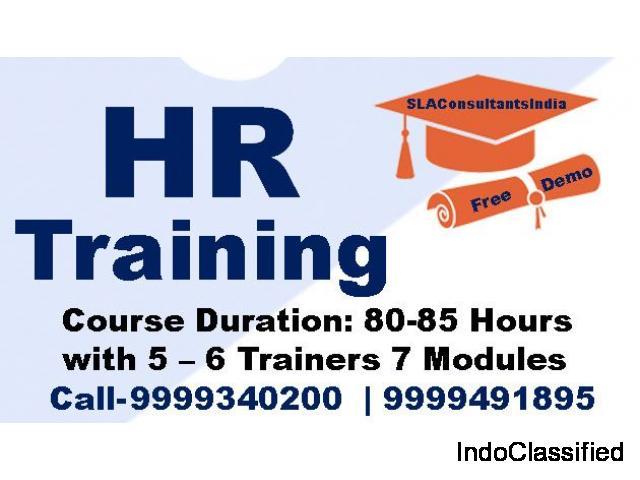 Attend Best HR Generalist Training Course in Delhi at SLA Consultants India