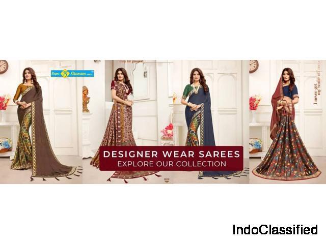 Buy Designer Sarees in Surat at Reasonable Price