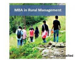 MBA in Rural Management from Jaipur National University