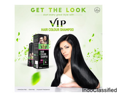 Vcare vip Shampoo Based hair Color Price in India | Buyhappy
