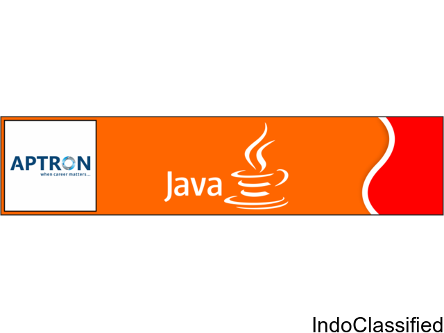 Java Course in Noida, Java Training Institute | APTRON Noida