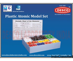 High perform-able Plastic Atomic Model Set Manufacturer | Plastic Labware India (DESCO India)