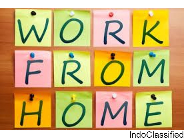 Earn part time income from home