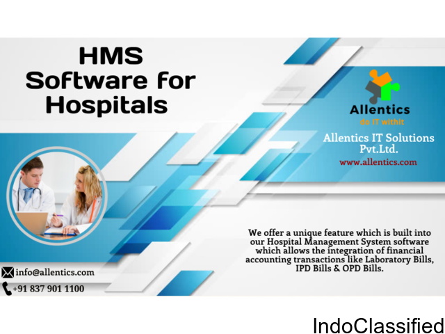 HMS Software for Hospitals