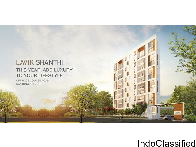 Apartment Near Racecourse Coimbatore -Lavikshanthi