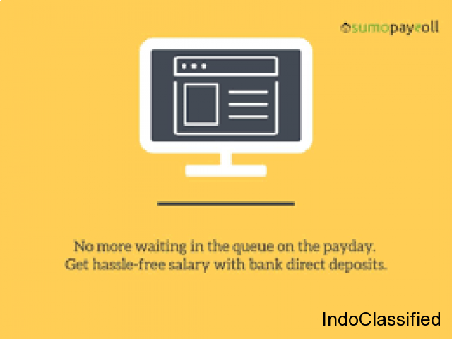Get hassle free salary with bank direct deposits | Sumopayroll