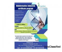 Bioinformatics industrial certificate Program