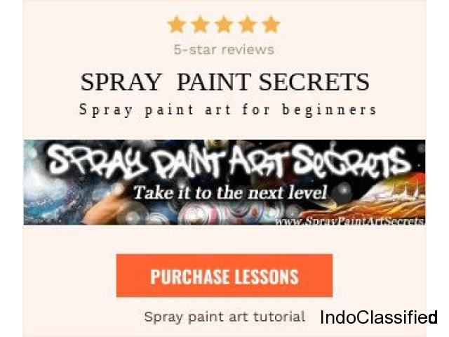 Professional spray paint art advice for your projects