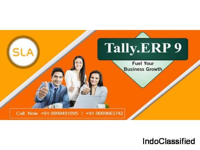 Attend Best Tally Training Course in Delhi at SLA Consultants India