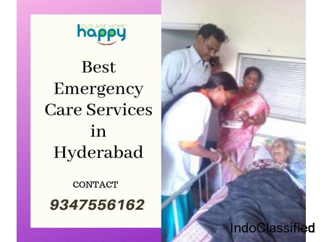 Best Emergency Care Services in Happy Old Age Home