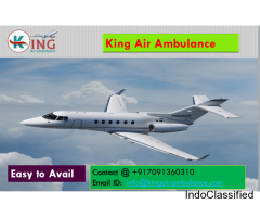 Get Air Ambulance from Dimapur at Low Cost by King Ambulance