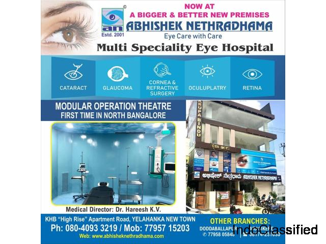 Eye Clinic in Yelahanka, Call 77957 15203