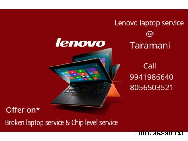 Lenovo laptop service velachery