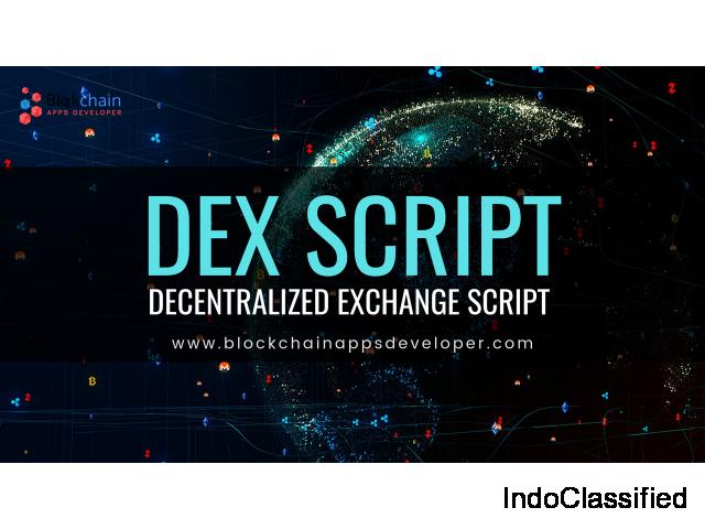 Decentralized Exchange Script | Decentralized Exchange Software | DEX Script