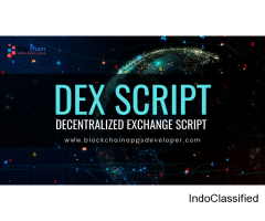 Decentralized Exchange Script | Decentralized Exchange Software | DEX Script