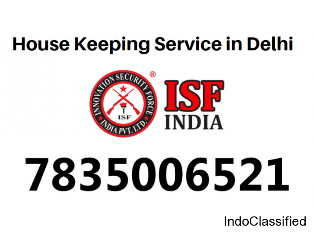 House Keeping Services in Delhi
