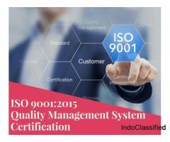 Get ISO 9001 Certification in Salem, Tamil Nadu