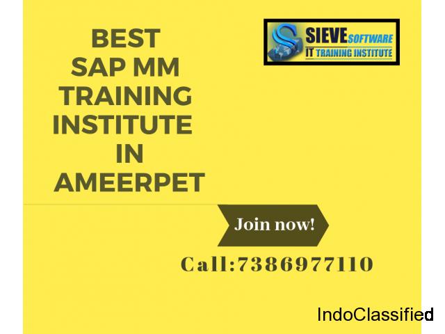 Best SAP MM Training Institute In Hyderabad
