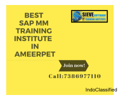 Best SAP MM Training Institute In Hyderabad