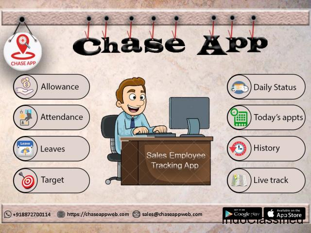 Get Best Field Force Management App - Chase App