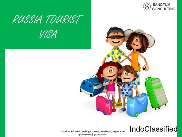 Avail Russia Tourist Visa Services