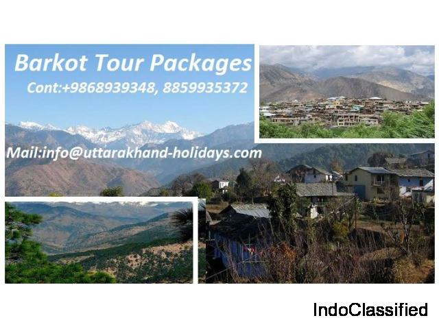 Explore Barkot Tourism with Uttarakhand Holidays Pvt. Ltd.