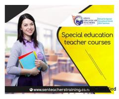 Special education teacher courses