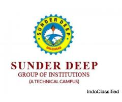 B.Tech , B. pharmacy, PGDM Best College In Ghaziabad : SUNDERDEEP GROUP OF INSTITUTIONS