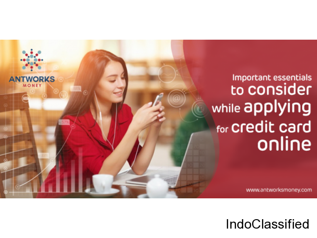 AntworksMoney- Why to Apply Credit Card Online