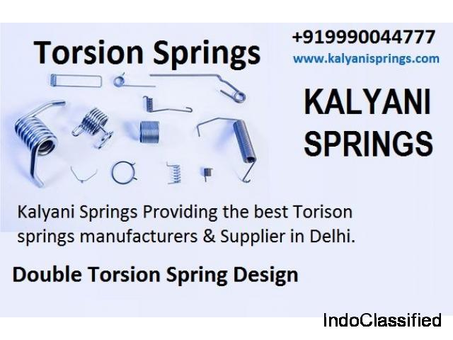 Compression Springs | Torsion Springs Manufacturers in Delhi