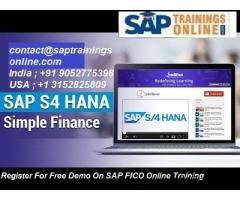 SAP S4 HANA Finance Online Training