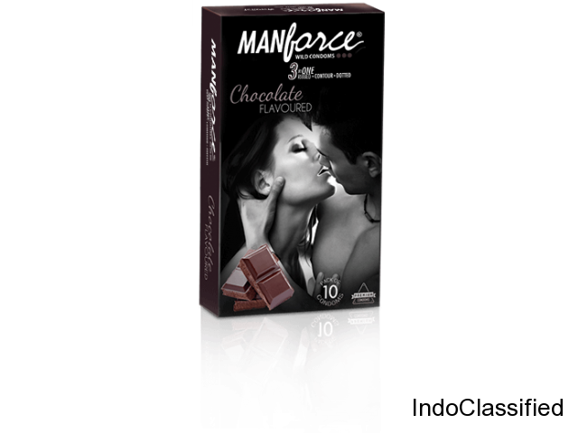 Buy Manforce Condoms - A Mankind Pharma Product - Pack of 10