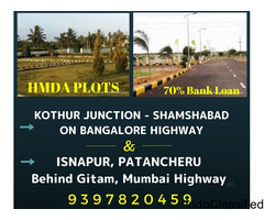HMDA OPEN PLOTS ON KOTHUR HIGHWAY