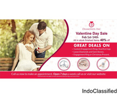 Best deal this Valentine at Diamonds Inc.