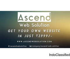 Get Your Own Website In Just Rs. 3999/-
