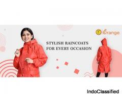 Raincoats for Women by ORANGE!